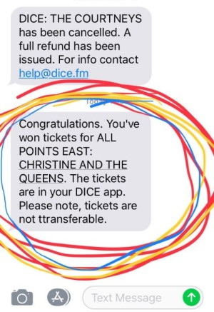 Dice Tickets